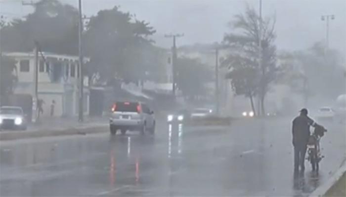8 provincias en alerta por vaguada seguirá provocando lluvias